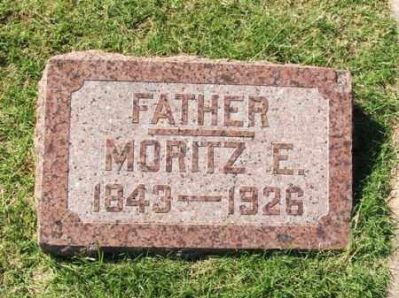 BINGENHEIMER, MORITZ E - Washita County, Oklahoma | MORITZ E BINGENHEIMER - Oklahoma Gravestone Photos