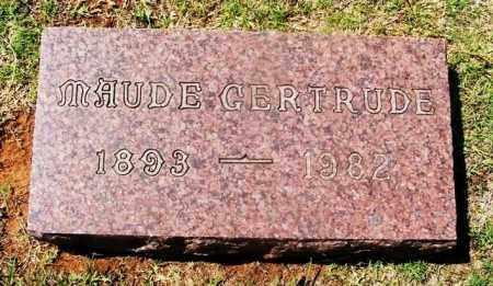 BIRCKETT, MAUDE GERTRUDE - Washita County, Oklahoma | MAUDE GERTRUDE BIRCKETT - Oklahoma Gravestone Photos