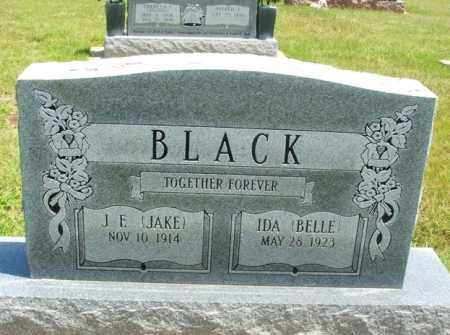 BLACK, IDA BELLE - Washita County, Oklahoma   IDA BELLE BLACK - Oklahoma Gravestone Photos
