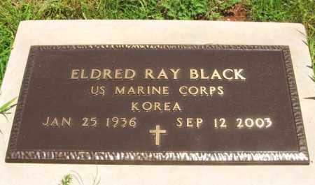 BLACK (VETERAN KOR), ELDRED RAY - Washita County, Oklahoma | ELDRED RAY BLACK (VETERAN KOR) - Oklahoma Gravestone Photos