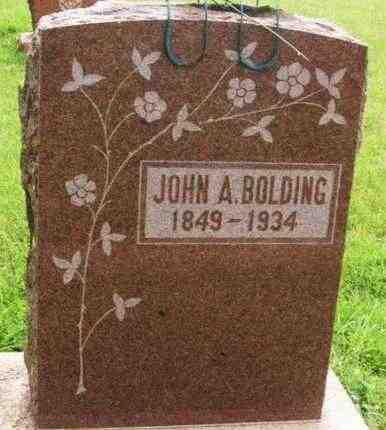 BOLDING, JOHN A - Washita County, Oklahoma | JOHN A BOLDING - Oklahoma Gravestone Photos