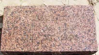 BONHAM, LESLIE C - Washita County, Oklahoma | LESLIE C BONHAM - Oklahoma Gravestone Photos