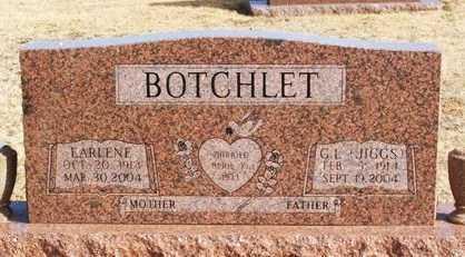 BOTCHLET, EARLENE - Washita County, Oklahoma | EARLENE BOTCHLET - Oklahoma Gravestone Photos