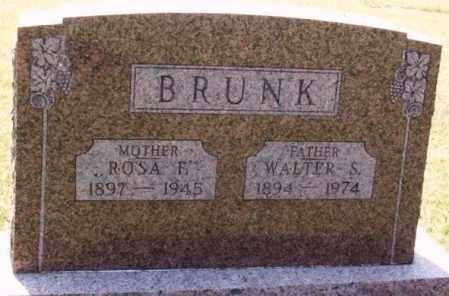 BRUNK, ROSA F - Washita County, Oklahoma | ROSA F BRUNK - Oklahoma Gravestone Photos