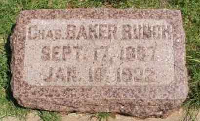 BUNCH, CHARLES BAKER - Washita County, Oklahoma | CHARLES BAKER BUNCH - Oklahoma Gravestone Photos