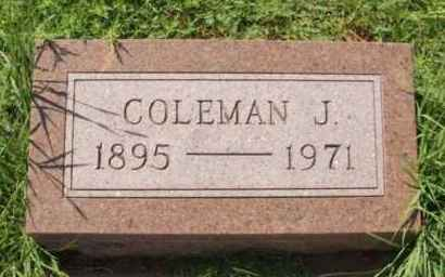 BUNCH, COLEMAN J - Washita County, Oklahoma | COLEMAN J BUNCH - Oklahoma Gravestone Photos