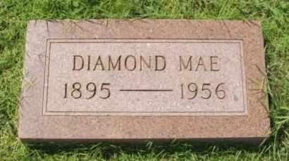 BUNCH, DIAMOND MAE - Washita County, Oklahoma   DIAMOND MAE BUNCH - Oklahoma Gravestone Photos