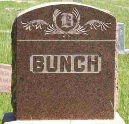 BUNCH, SURNAME STONE - Washita County, Oklahoma | SURNAME STONE BUNCH - Oklahoma Gravestone Photos