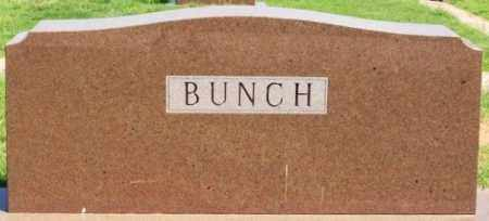 BUNCH, SURNAME STONE - Washita County, Oklahoma | SURNAME STONE BUNCH - Oklahoma Gravestone Photos