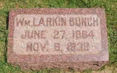 BUNCH, WILLIAM LARKIN - Washita County, Oklahoma | WILLIAM LARKIN BUNCH - Oklahoma Gravestone Photos