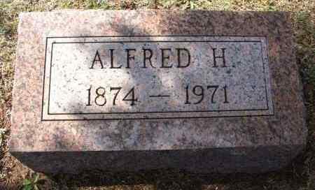 BUNGARDT, ALFRED H - Washita County, Oklahoma | ALFRED H BUNGARDT - Oklahoma Gravestone Photos
