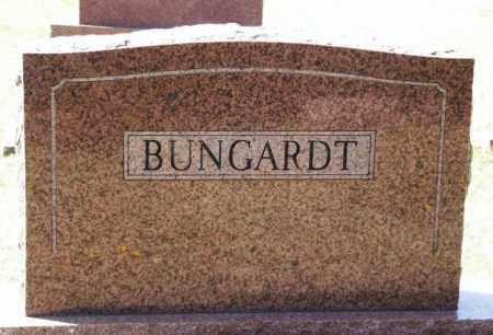 BUNGARDT, SURNAME STONE - Washita County, Oklahoma | SURNAME STONE BUNGARDT - Oklahoma Gravestone Photos