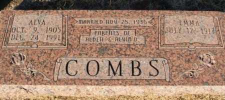 COMBS, ALVA - Washita County, Oklahoma | ALVA COMBS - Oklahoma Gravestone Photos