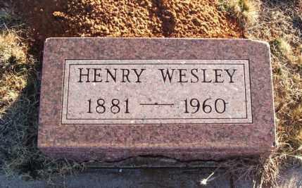 COMBS, HENRY WESLEY - Washita County, Oklahoma | HENRY WESLEY COMBS - Oklahoma Gravestone Photos