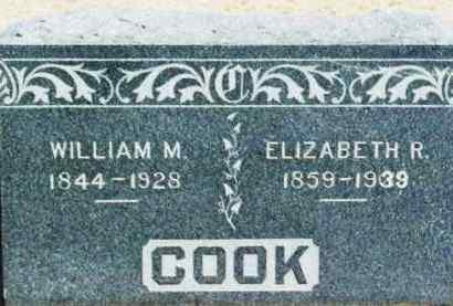 COOK, ELIZABETH REBECCA - Washita County, Oklahoma | ELIZABETH REBECCA COOK - Oklahoma Gravestone Photos