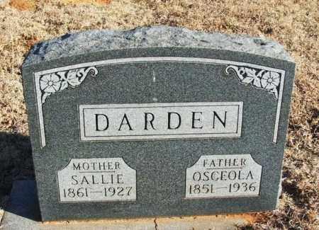 DARDEN, OSCEOLA - Washita County, Oklahoma | OSCEOLA DARDEN - Oklahoma Gravestone Photos