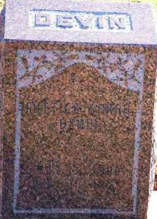 BROWN DEVIN, MITTICE SARAH - Washita County, Oklahoma | MITTICE SARAH BROWN DEVIN - Oklahoma Gravestone Photos