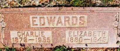 EDWARDS, CHARLIE - Washita County, Oklahoma | CHARLIE EDWARDS - Oklahoma Gravestone Photos