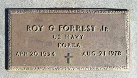 FORREST  JR (VETERAN KOR), ROY G - Washita County, Oklahoma | ROY G FORREST  JR (VETERAN KOR) - Oklahoma Gravestone Photos
