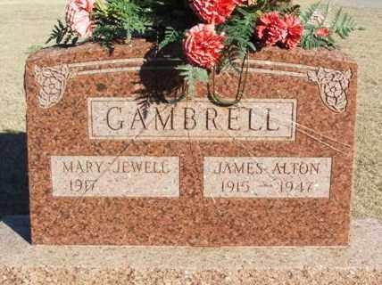 GAMBRELL, JAMES ALTON - Washita County, Oklahoma | JAMES ALTON GAMBRELL - Oklahoma Gravestone Photos