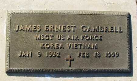GAMBRELL (VETERAN 2WARS), JAMES ERNEST - Washita County, Oklahoma | JAMES ERNEST GAMBRELL (VETERAN 2WARS) - Oklahoma Gravestone Photos