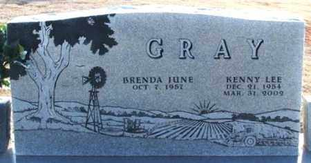 THEESEN GRAY, BRENDA JUNE - Washita County, Oklahoma | BRENDA JUNE THEESEN GRAY - Oklahoma Gravestone Photos
