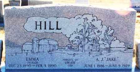 HILL, EMMA - Washita County, Oklahoma   EMMA HILL - Oklahoma Gravestone Photos