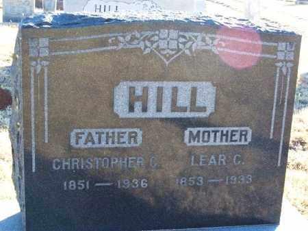 HILL, LEAR C - Washita County, Oklahoma | LEAR C HILL - Oklahoma Gravestone Photos