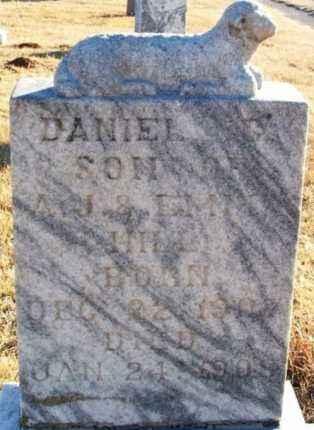 HILL, DANIEL C - Washita County, Oklahoma | DANIEL C HILL - Oklahoma Gravestone Photos
