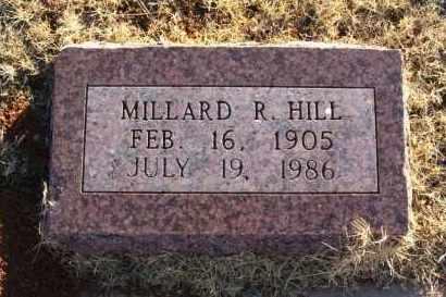 HILL, MILLARD R - Washita County, Oklahoma | MILLARD R HILL - Oklahoma Gravestone Photos