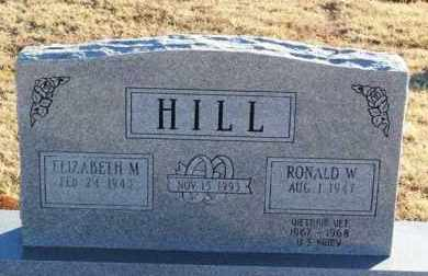 HILL, RONALD W - Washita County, Oklahoma | RONALD W HILL - Oklahoma Gravestone Photos