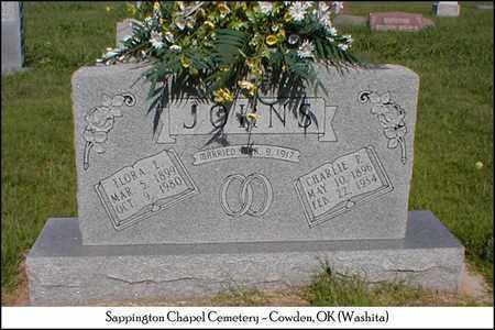 JOHNS, FLORA ELEXANDRA - Washita County, Oklahoma | FLORA ELEXANDRA JOHNS - Oklahoma Gravestone Photos