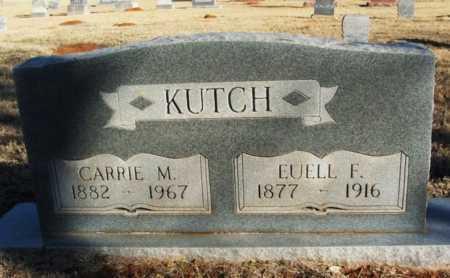 KUTCH, CARRIE M - Washita County, Oklahoma | CARRIE M KUTCH - Oklahoma Gravestone Photos