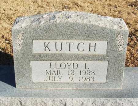 KUTCH, LLOYD L - Washita County, Oklahoma | LLOYD L KUTCH - Oklahoma Gravestone Photos