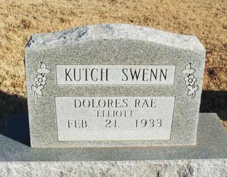 ELLIOTT KUTCH SWENN, DOLORES RAE - Washita County, Oklahoma | DOLORES RAE ELLIOTT KUTCH SWENN - Oklahoma Gravestone Photos