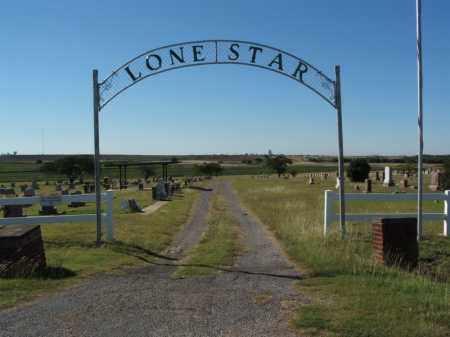 *LONE STAR, *ENTRANCE - Washita County, Oklahoma   *ENTRANCE *LONE STAR - Oklahoma Gravestone Photos