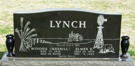 MERRILL LYNCH, WINONA - Washita County, Oklahoma | WINONA MERRILL LYNCH - Oklahoma Gravestone Photos