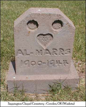 MARRS, ARTHUR LEE - Washita County, Oklahoma   ARTHUR LEE MARRS - Oklahoma Gravestone Photos