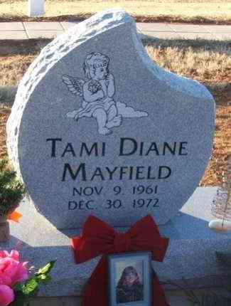 MAYFIELD, TAMI DIANE - Washita County, Oklahoma | TAMI DIANE MAYFIELD - Oklahoma Gravestone Photos