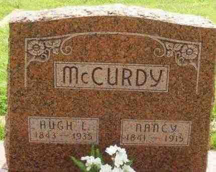 MCCURDY, HUGH L - Washita County, Oklahoma | HUGH L MCCURDY - Oklahoma Gravestone Photos