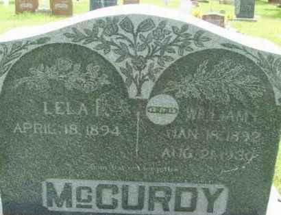 MCCURDY, WILLIAM LUTHER - Washita County, Oklahoma | WILLIAM LUTHER MCCURDY - Oklahoma Gravestone Photos