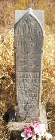 MCDANIEL, MARY J - Washita County, Oklahoma   MARY J MCDANIEL - Oklahoma Gravestone Photos