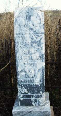 MISENHIMER, SARAH - Washita County, Oklahoma | SARAH MISENHIMER - Oklahoma Gravestone Photos