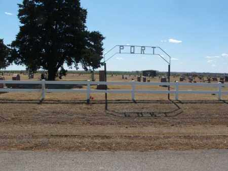 *PORT, *OVERVIEW - Washita County, Oklahoma | *OVERVIEW *PORT - Oklahoma Gravestone Photos