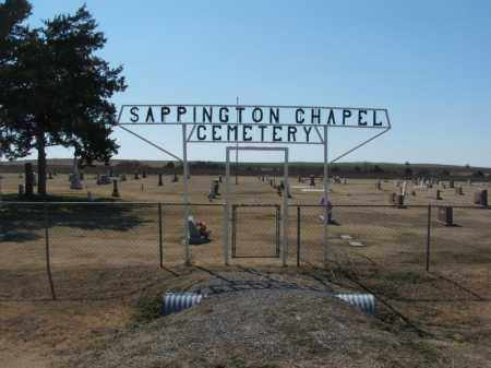 *SAPPINGTON CHAPEL, *OVERVIEW - Washita County, Oklahoma | *OVERVIEW *SAPPINGTON CHAPEL - Oklahoma Gravestone Photos