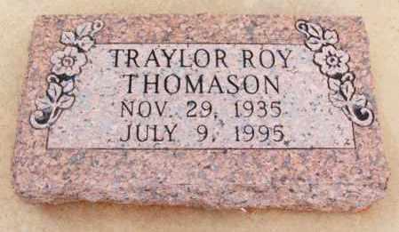 THOMASON, TRAYLOR ROY - Washita County, Oklahoma | TRAYLOR ROY THOMASON - Oklahoma Gravestone Photos