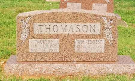 THOMASON, WILLIAM ERNEST - Washita County, Oklahoma | WILLIAM ERNEST THOMASON - Oklahoma Gravestone Photos