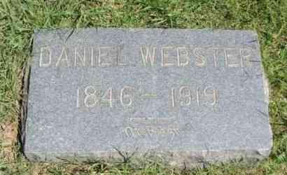 WEBSTER, DANIEL - Washita County, Oklahoma | DANIEL WEBSTER - Oklahoma Gravestone Photos