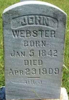 WEBSTER, JOHN - Washita County, Oklahoma | JOHN WEBSTER - Oklahoma Gravestone Photos