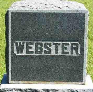 WEBSTER, SURNAME STONE - Washita County, Oklahoma | SURNAME STONE WEBSTER - Oklahoma Gravestone Photos